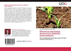 Portada del libro de Eficiencia del hongo micorrícico (Glomus fasciculatum)
