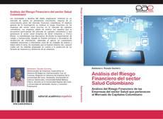 Capa do livro de Análisis del Riesgo Financiero del sector Salud Colombiano