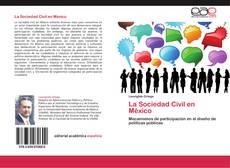 Portada del libro de La Sociedad Civil en México