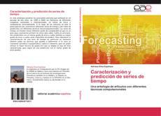 Caracterización y predicción de series de tiempo kitap kapağı