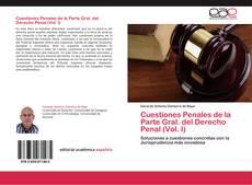 Copertina di Cuestiones Penales de la Parte Gral. del Derecho Penal (Vol. I)