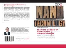 Обложка Técnicas usadas en Nanociencia y Nanotecnología