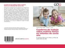 Couverture de Cuaderno de trabajo sobre análisis fónico en infantes de sexto año