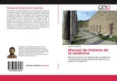 Copertina di Manual de historia de la medicina