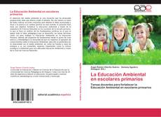 Portada del libro de La Educación Ambiental en escolares primarios