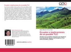 Portada del libro de Ecuador e implicaciones de un posible TLC