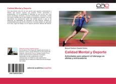 Portada del libro de Calidad Mental y Deporte
