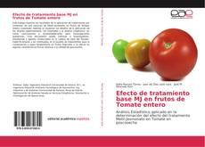 Efecto de tratamiento base MJ en frutos de Tomate entero kitap kapağı