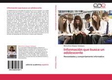 Couverture de Información que busca un adolescente