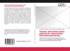 Copertina di Tareas docentes para potenciar relaciones interdisciplinarias