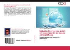 Bookcover of Estudio de errores a priori en rasterización de bases cartográficas