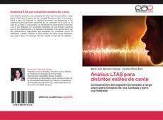 Bookcover of Análisis LTAS para distintos estilos de canto