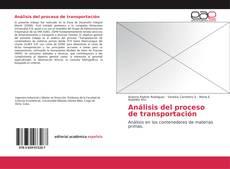 Capa do livro de Análisis del proceso de transportación