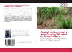 Control de la erosión y uso eficiente del agua en la agricultura的封面