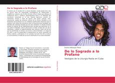 Bookcover of De lo Sagrado a lo Profano