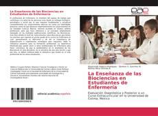Portada del libro de La Enseñanza de las Biociencias en Estudiantes de Enfermería