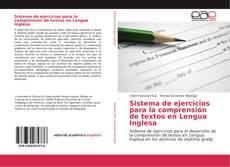 Обложка Sistema de ejercicios para la comprensión de textos en Lengua Inglesa