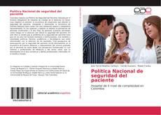 Capa do livro de Política Nacional de seguridad del paciente