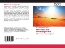 Portada del libro de Métodos de Investigación