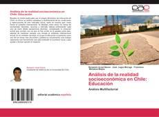 Capa do livro de Análisis de la realidad socioeconómica en Chile: Educación