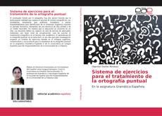 Capa do livro de Sistema de ejercicios para el tratamiento de la ortografía puntual