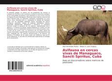 Portada del libro de Avifauna en cercas vivas de Managuaco, Sancti Spíritus, Cuba