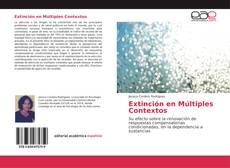 Capa do livro de Extinción en Múltiples Contextos