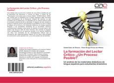 Capa do livro de La formación del Lector Crítico: ¿Un Proceso Posible?