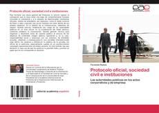 Portada del libro de Protocolo oficial, sociedad civil e instituciones