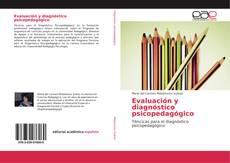 Evaluación y diagnóstico psicopedagógico的封面
