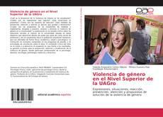 Copertina di Violencia de género en el Nivel Superior de la UAGro