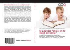 Buchcover von El análisis fónico en la edad prescolar