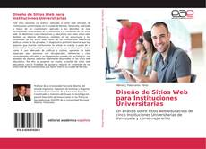 Portada del libro de Diseño de Sitios Web para Instituciones Universitarias
