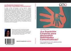 Buchcover von ¿La Expresión Corporal para desarrollar Habilidades Comunicativas?