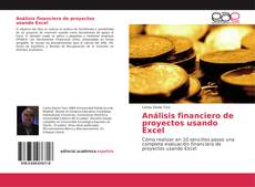 Copertina di Análisis financiero de proyectos usando Excel