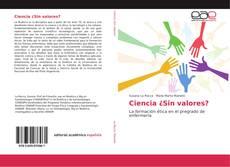 Capa do livro de Ciencia ¿Sin valores?
