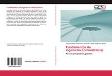 Fundamentos de ingeniería administrativa kitap kapağı
