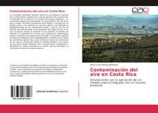 Portada del libro de Contaminación del aire en Costa Rica