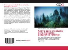 Borítókép a  Anova para el estudio de la variación geográfica forestal - hoz
