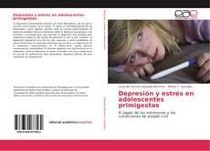 Couverture de Depresión y estrés en adolescentes primigestas