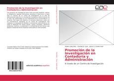 Copertina di Promoción de la Investigación en Contaduría y Administración