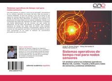 Buchcover von Sistemas operativos de tiempo real para nodos sensores