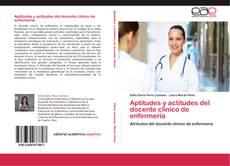 Portada del libro de Aptitudes y actitudes del docente clínico de enfermería