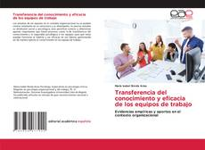 Portada del libro de Transferencia del conocimiento y eficacia de los equipos de trabajo