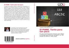Bookcover of El PIARE. Tanto para tan poco