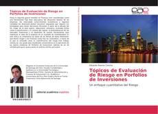 Portada del libro de Tópicos de Evaluación de Riesgo en Porfolios de Inversiones