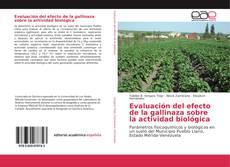 Couverture de Evaluación del efecto de la gallinaza sobre la actividad biológica