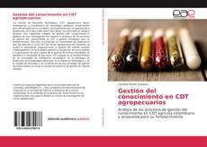 Capa do livro de Gestión del conocimiento en CDT agropecuarios