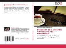 Evaluación de la Docencia Universitaria y su Profesorado kitap kapağı