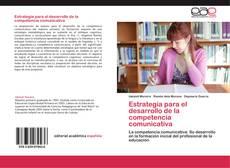 Portada del libro de Estrategia para el desarrollo de la competencia comunicativa